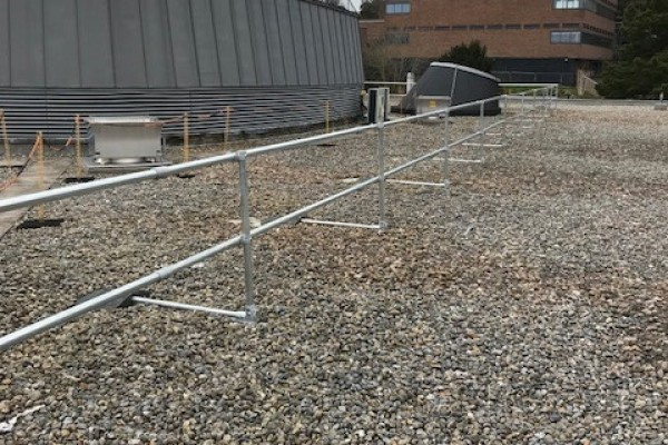 Gull Netting & Safety  Handrail Installation