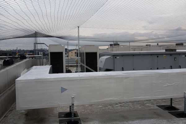 Roof Net - Covering Ducting