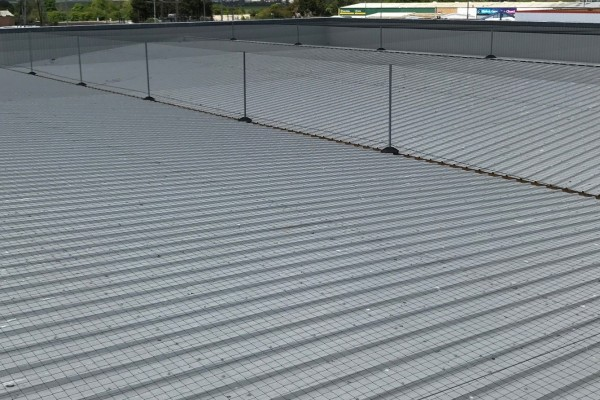 Example of Eco Tensioned Netting System