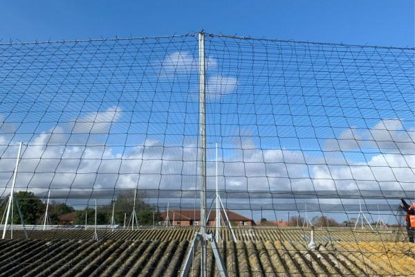 Bespoke Gull Netting Bracket