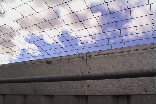 Mesh Barriers to Protect Drugs and Contraband
