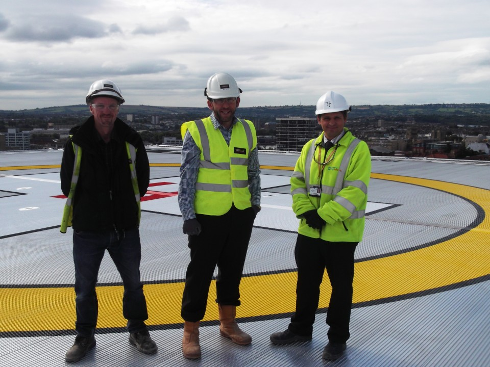 Eco Environmental Complete Helipad Project For Laing O