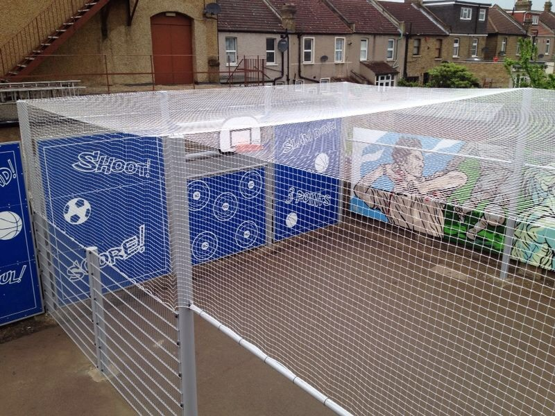 MUGA Sports Roof Netting - Ilford