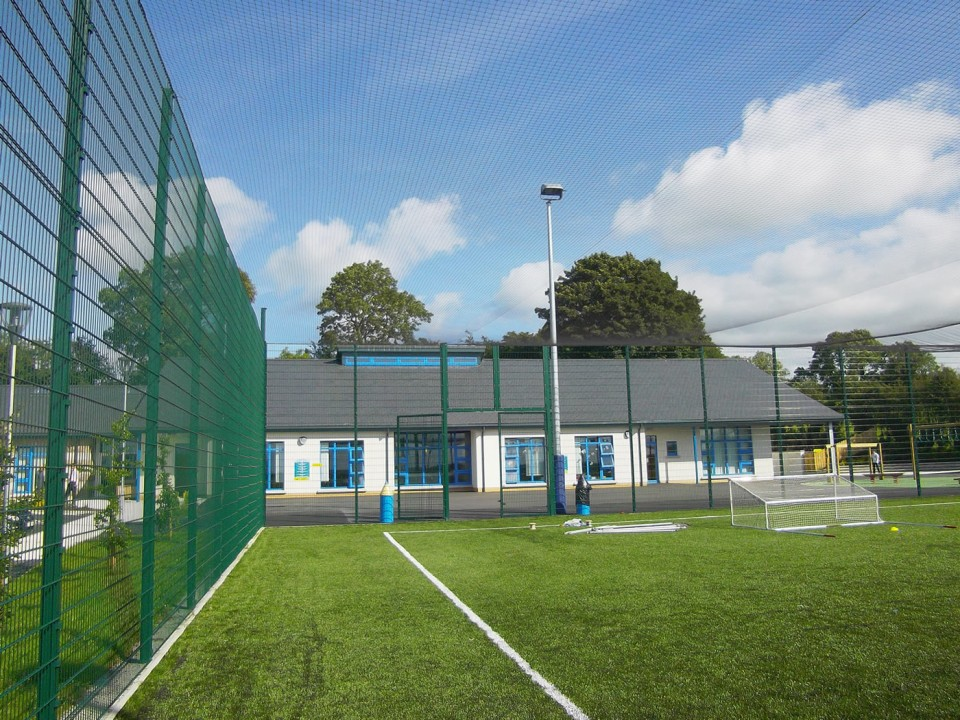 MUGA Sports Roof Netting