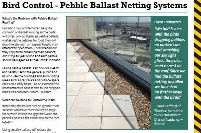 Ballast Netting Article Snippet