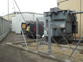 Fouling Cleaning and Installation of Bird Nets at the Bath Substation of Western Power Distribution