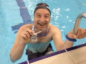 Congratulations to Dave Harry on his Swimathon 2015