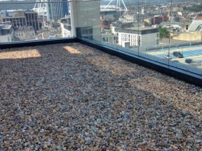 Admirable result for Eco Environmental Services Ltd on Pebble Ballast Roof