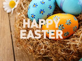 Closed for Easter Long Weekend | Happy Easter!