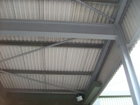Bird Netting Installation for MOD Buildings