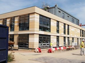 Eco Environmental complete Bird protection package at Bath Spa University for Skanska Construction